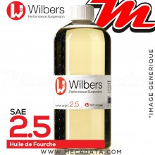 Huile de Fourche Wilbers SAE 2.5