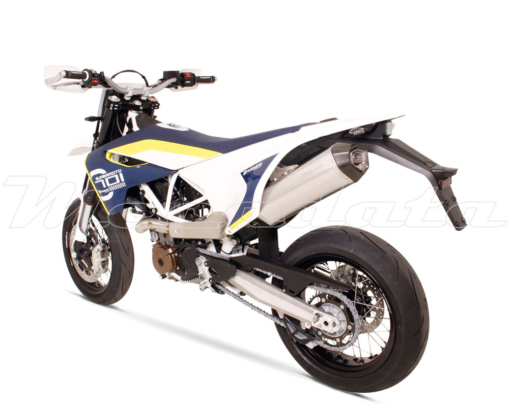 silencieux pot chappement remus hexacone inox husqvarna 701 supermoto 2016 ebay. Black Bedroom Furniture Sets. Home Design Ideas