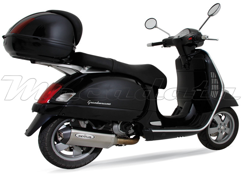 echappement remus inox piaggio vespa gt 200 03 05. Black Bedroom Furniture Sets. Home Design Ideas