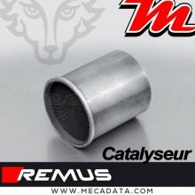 Catalyseur amovible pour collecteur d'échappement ou intermédiaire Remus