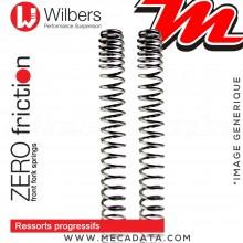 Ressorts de Fourche ~ Triumph Rocket III Touring - 2007+ - (23 XC) ~ Wilbers - Zero friction - Progressifs