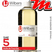 Huile de Fourche Wilbers SAE 5