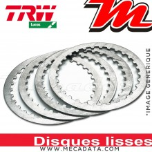 Disques d'embrayage lisses ~ KTM SX 150 2009-2015 ~ TRW Lucas MES 419-6