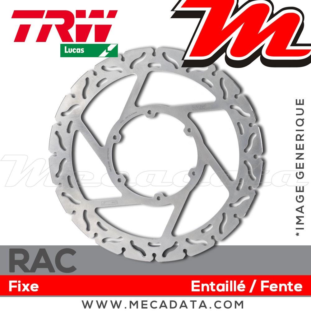 2007 RC52 Disque de frein Avant TRW MST 206 Honda NT 700 VA Deauville ABS