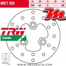 Disque de frein Avant ~ MUZ FB 50 Moskito (FB) 1997-2003 ~ TRW Lucas MST 250
