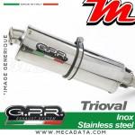 Silencieux Pot d'échappement ~ MOTO GUZZI NORGE 1200 4V - GT 8V 2006 - 2016 ~ GPR TRIOVAL