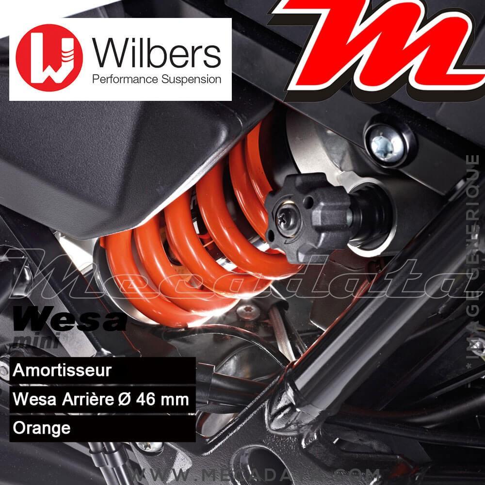 Amortisseur Wilbers WESA ~ BMW F 700 GS [ESA] (E 8 GS) ~ Années 2012 - 2017 (Arrière)