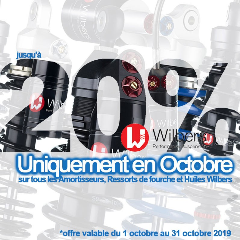 Promotion Octobre 2019 Wilbers
