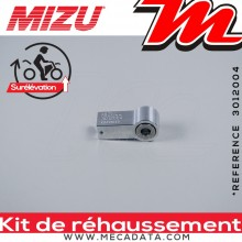 Kit de Rehaussement ~ APRILIA Tuono 125 ~ (KC) 2017 - 2019 ~ Mizu + 25 mm
