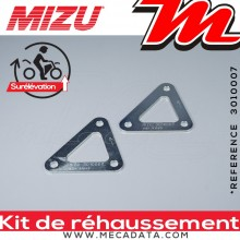 Kit de Rehaussement ~ APRILIA RSV 1000 Mille ~ (ME) 1999 - 2000 ~ Mizu + 30 mm