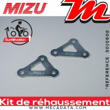 Kit de Rehaussement ~ APRILIA RSV 1000 Tuono ~ (RP) 2003 - 2005 ~ Mizu + 30 mm