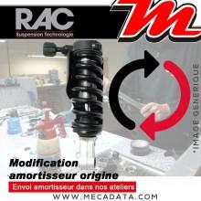 Kit Rabaissement ~ Aprilia Derbi RX 125/ SX 125 ~ (KX/ KX1) 2018 - 2021 ~ RAC Suspension - 50 mm