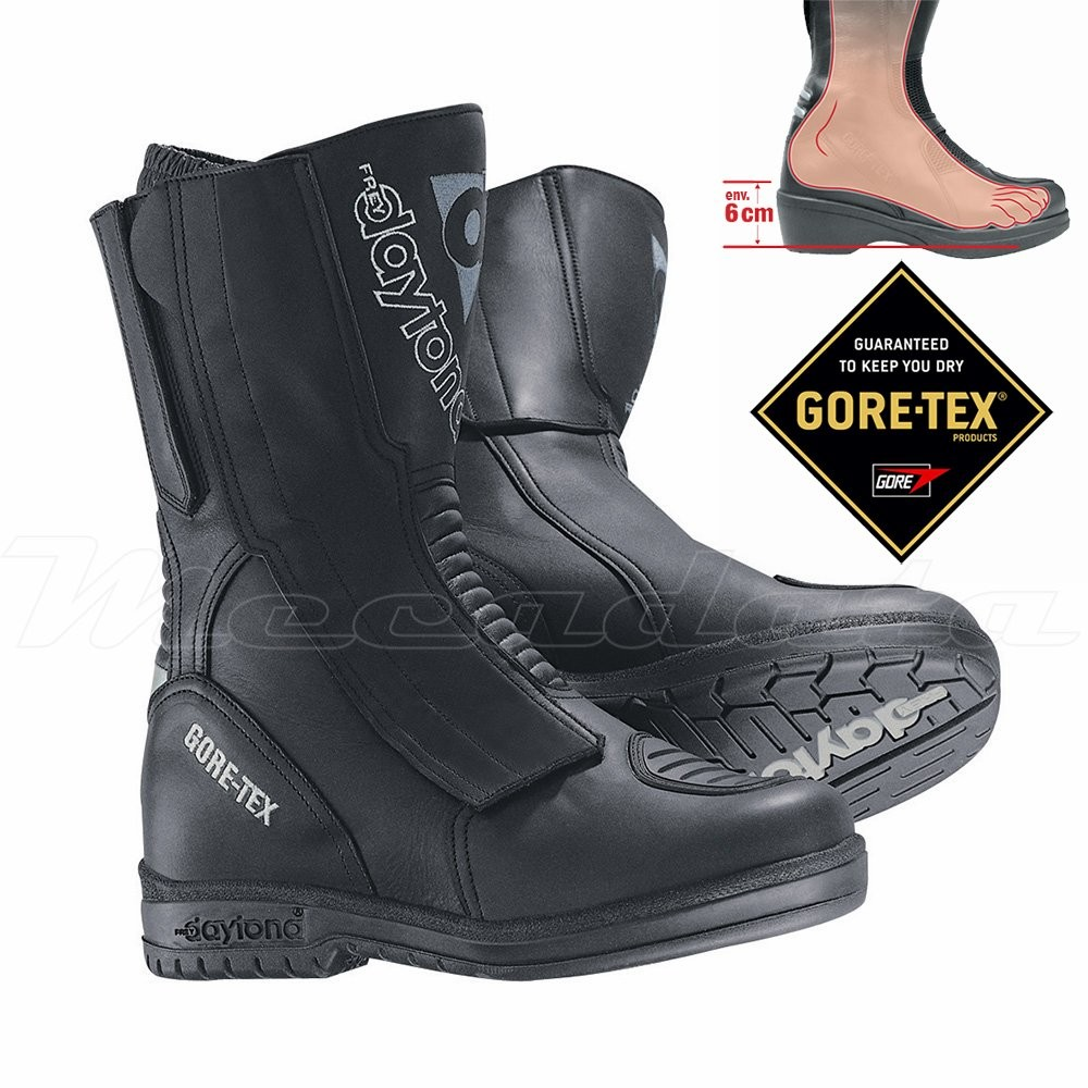 bottes moto avec talons 6 cm gore tex daytona m star gtx. Black Bedroom Furniture Sets. Home Design Ideas