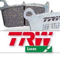 Plaquettes de frein moto TRW Lucas