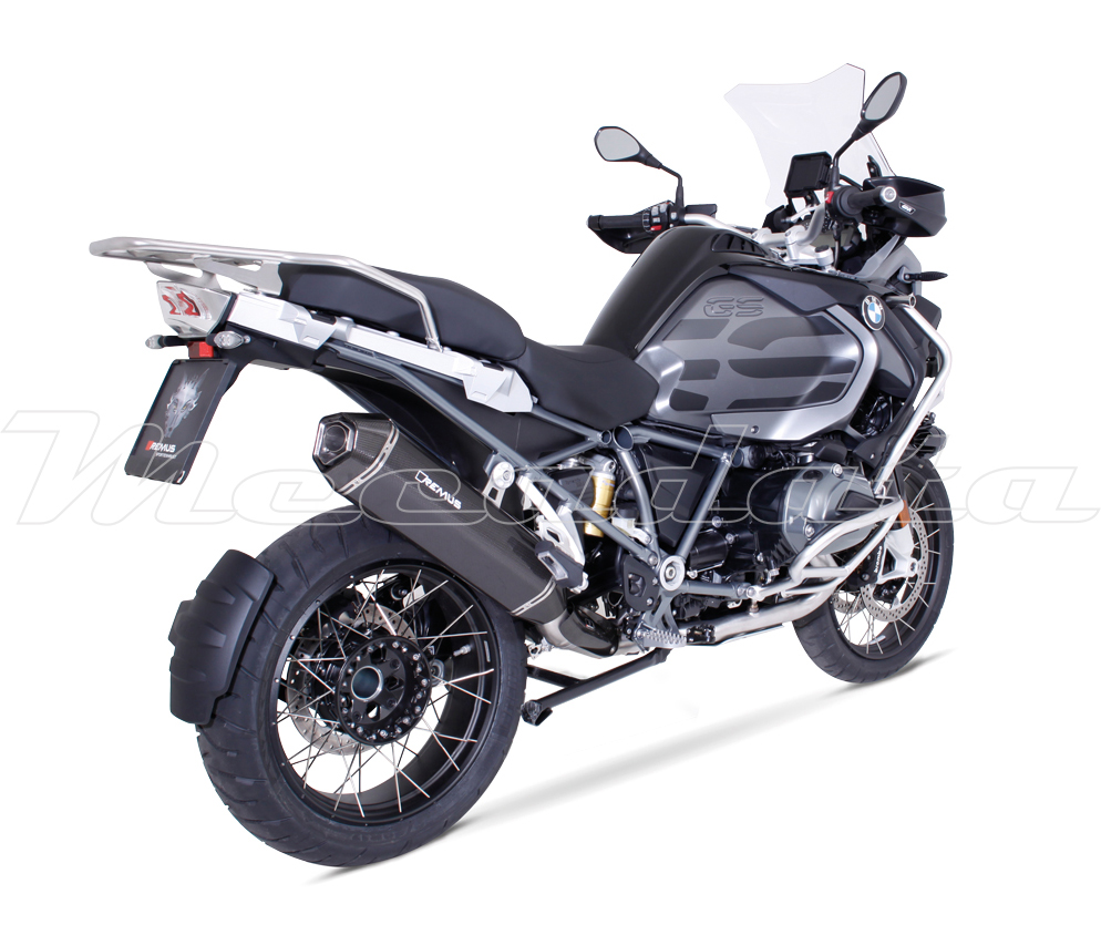 silencieux pot chappement remus hexacone carbone bmw r 1200 gs adventure 2017 ebay. Black Bedroom Furniture Sets. Home Design Ideas