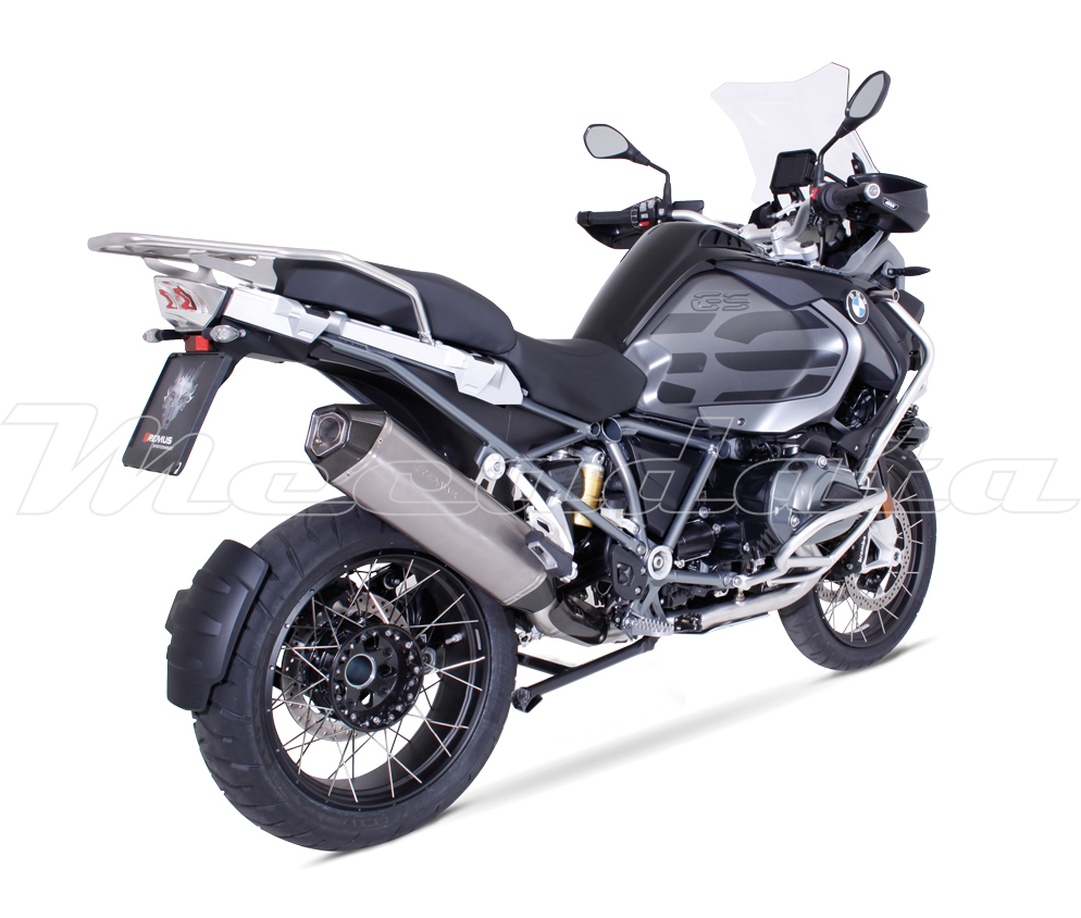 silencieux d 39 chappement bmw r 1200 gs 2016 2017 remus hexacone. Black Bedroom Furniture Sets. Home Design Ideas