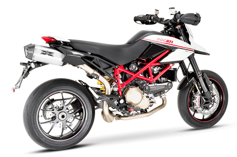 echappement remus carbone ducati hypermotard 1100 07. Black Bedroom Furniture Sets. Home Design Ideas