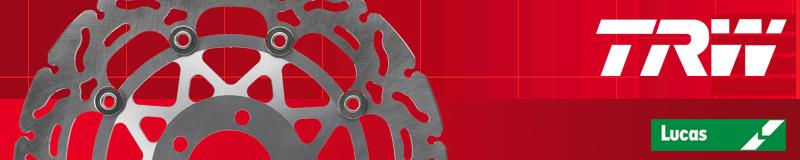 Disque de frein Avant TRW Lucas MST 465 RAC pour Honda CB 650 F 2014